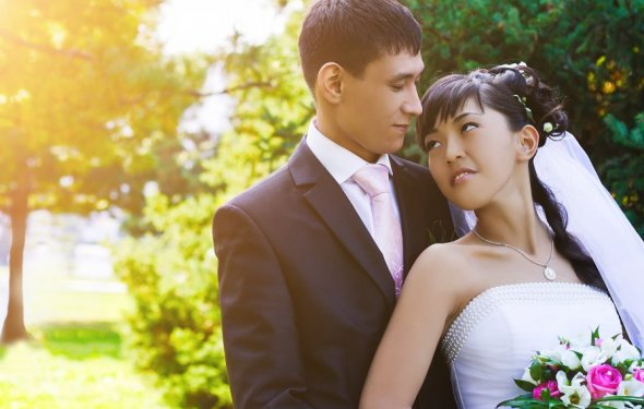 Сватовство казахской невесты