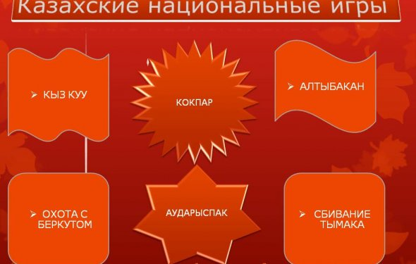 Казахские национальные игры