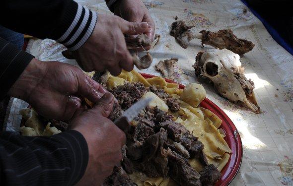 Национальные блюда кубанских